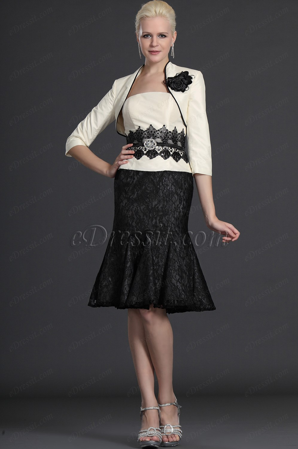 eDressit Elegance Two Pieces Mother of the Bride Dress (26123907)