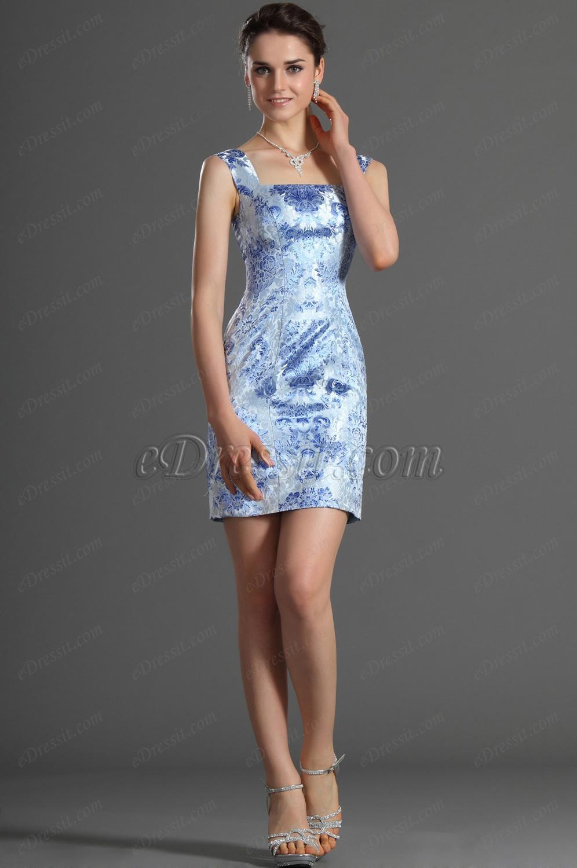 eDressit Träger Reproduzierbar Damen Kleid (03120905)