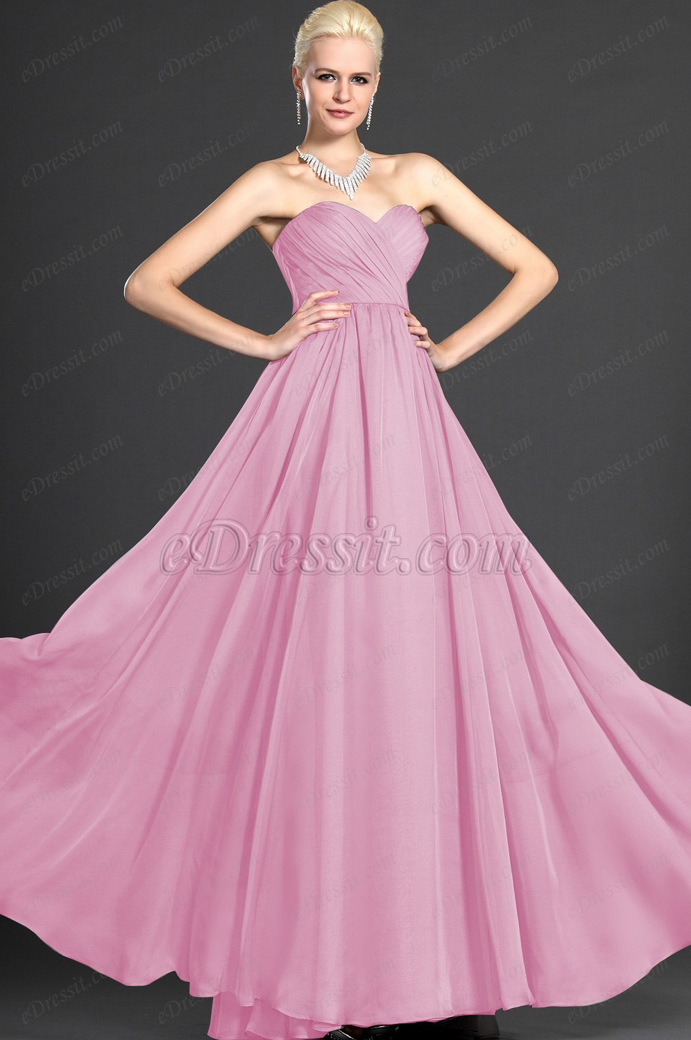 Clearance Sale !eDressit 2012 Sweet-Heart Strapless Evening Dress (00124608B)