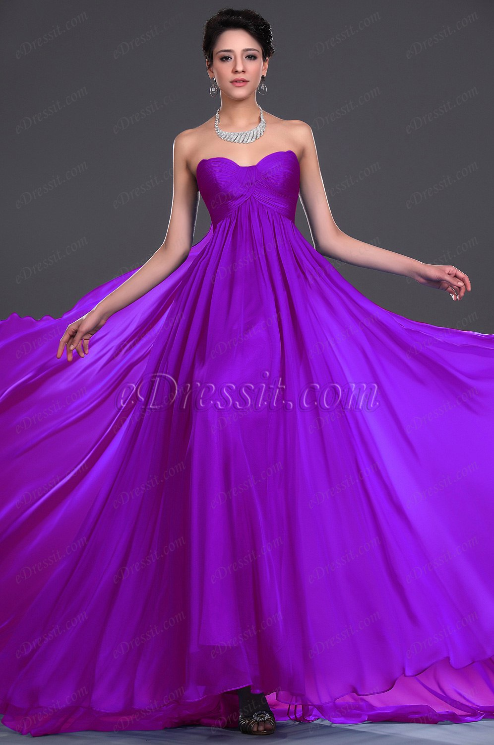 Clearance Sale !eDressit New Strapless Evening Dress (00117905D)