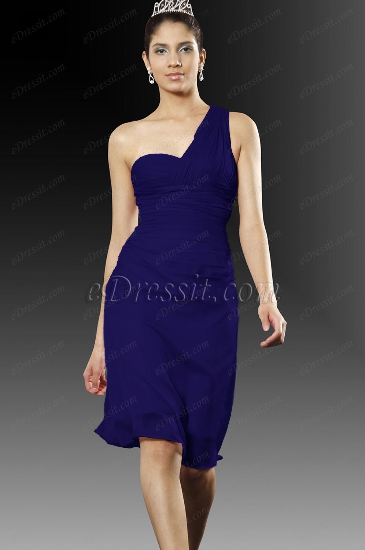 Clearance Sale !eDressit Beige Cute one shoulder Cocktail Dress (04094301B)