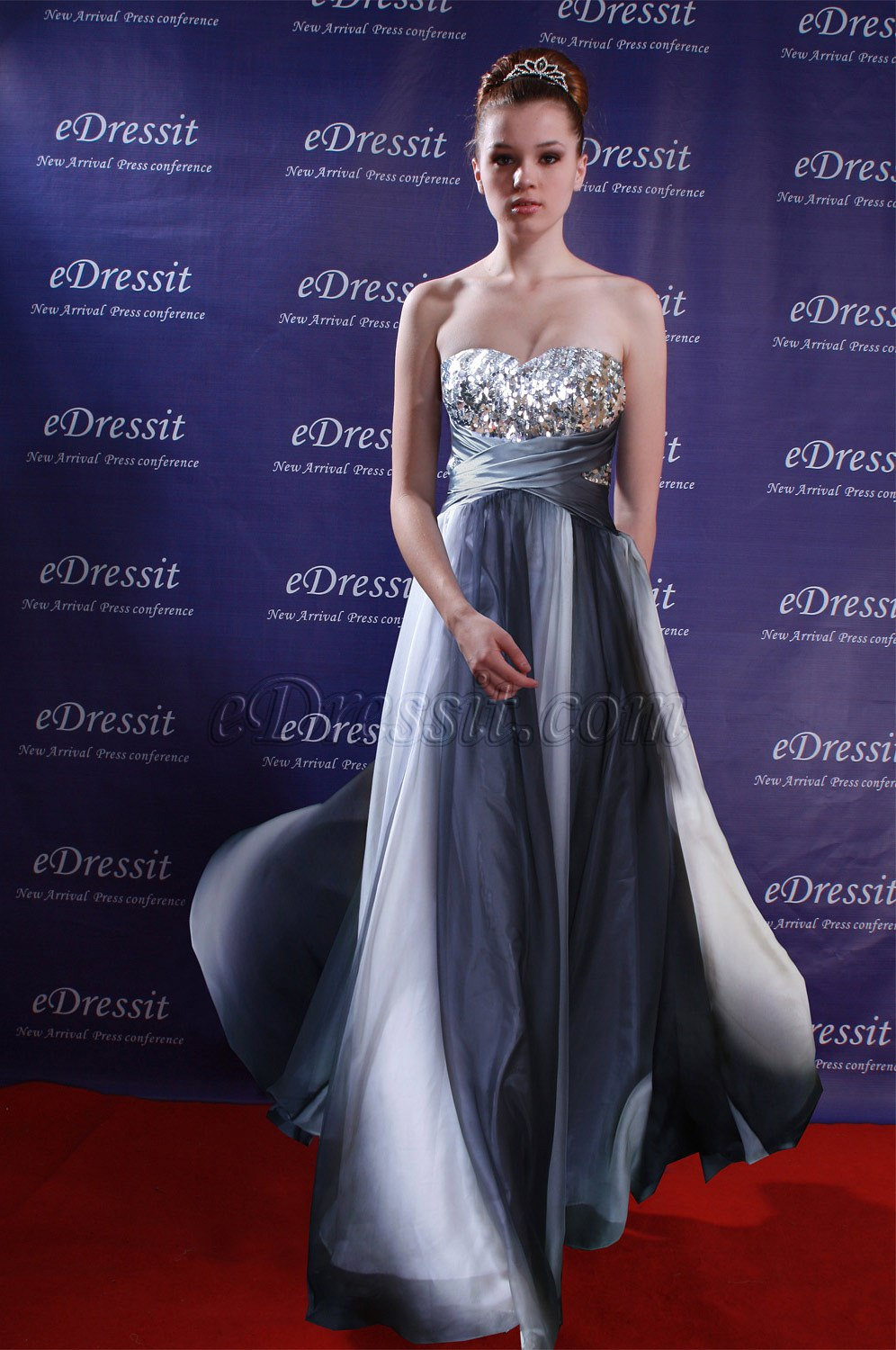 Clearance Sale !eDressit Fabulous Gradient Color Evening Dress (00096356B)