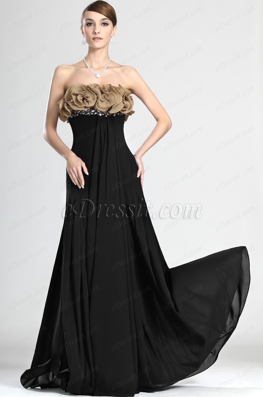 eDressit Robe de Soirée Séduction Noire (00124900)
