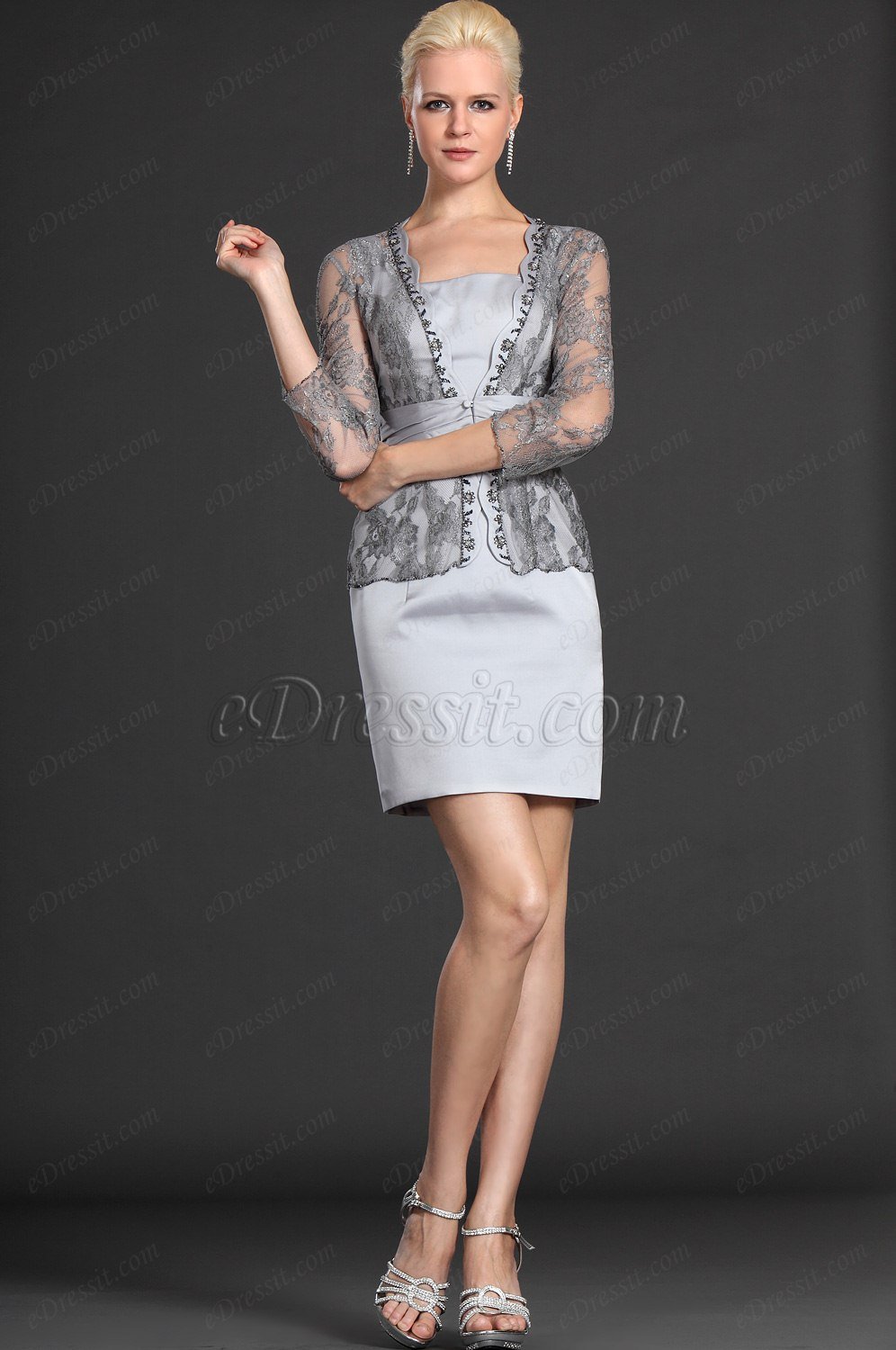 eDressit Charming Two Pieces Mother of the Bride Dress (26123208)