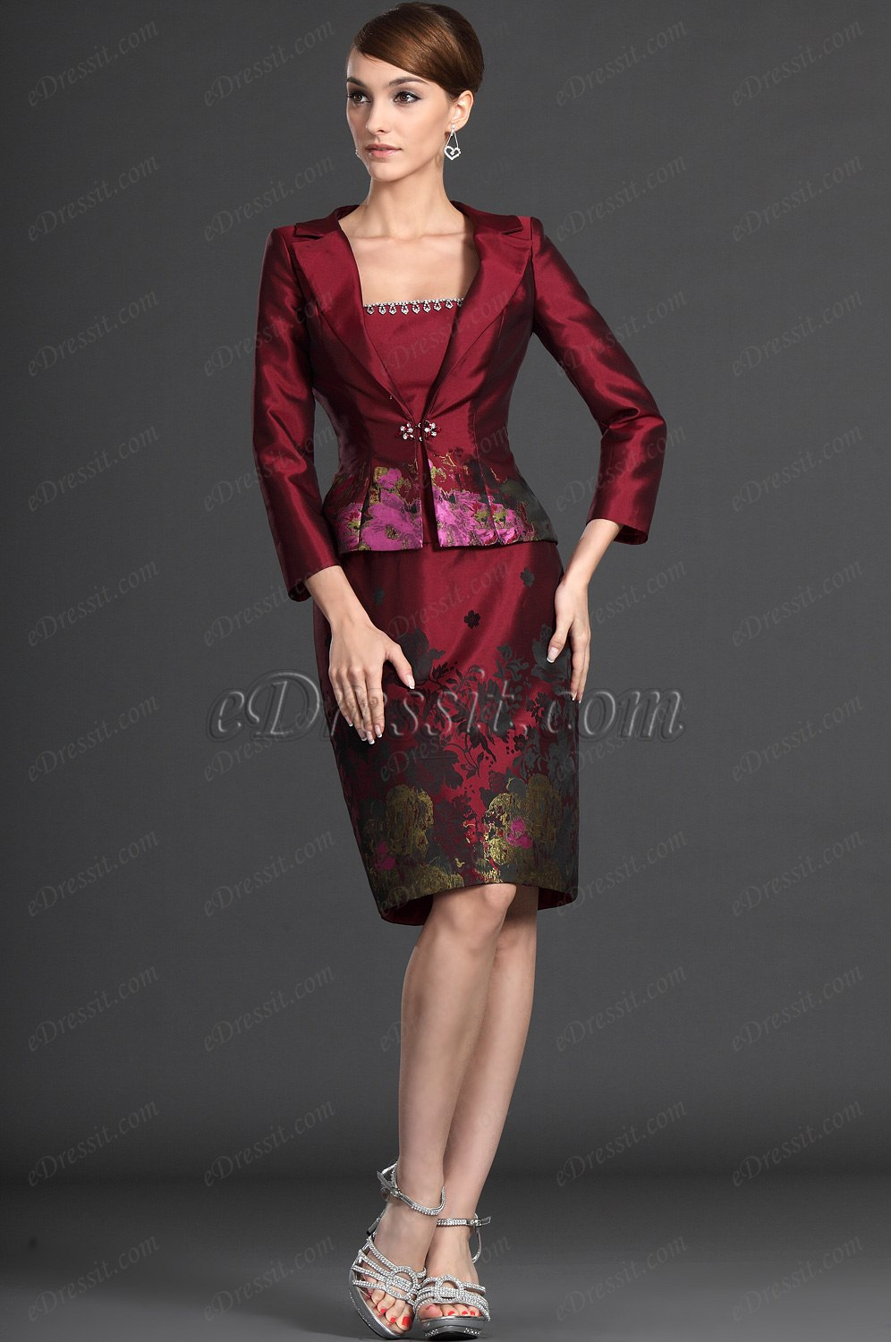 eDressit Elegance Two Pieces Mother of the Bride Dress (26123517)