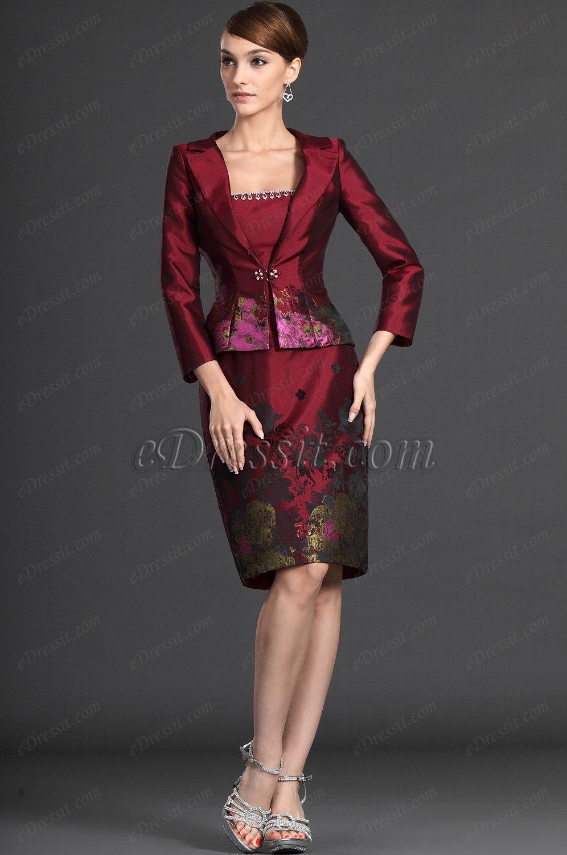 eDressit Novedad Elegante Dos Piezas Vestido de Ceremonia para la Dama (26123517)