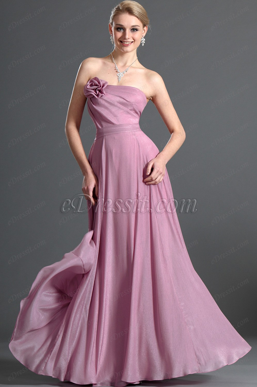 eDressit  Strapless Bridesmaid Dress (07121101)