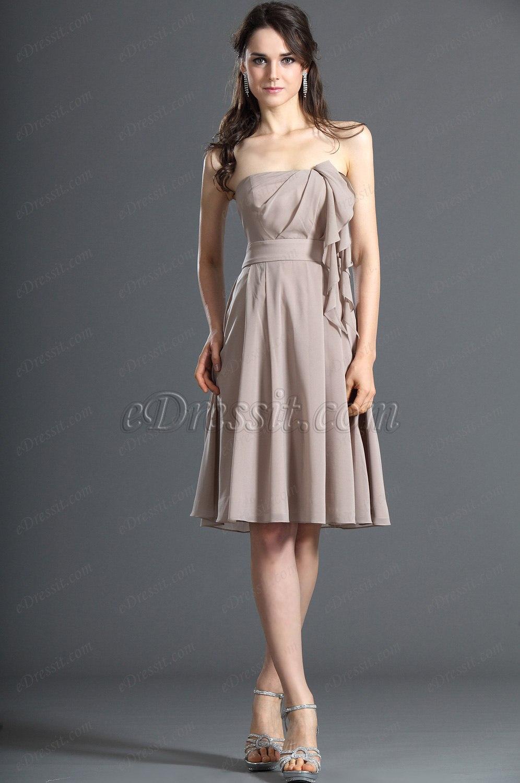 eDressit Novedad Maravilloso Sin Tirante Vestido de Ceremonia para Dama (07121846)