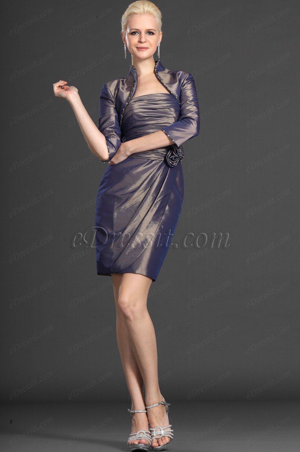 eDressit Elegance Two Pieces Mother of the Bride Dress (26122108)