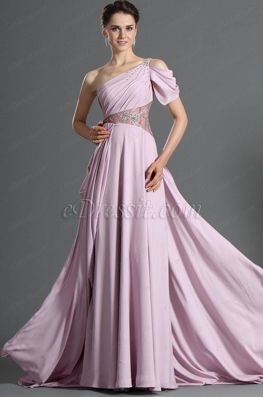 eDressit Maravilloso Solo Hombro Vestido de Noche (00117106)