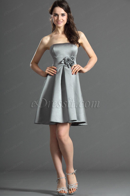 eDressit Strapless Bridesmaid Dress Cocktail Dress (07121908)