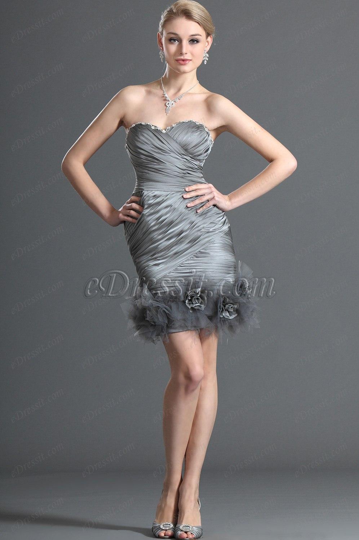 eDressit Maravilloso Escote de Cariño sin Tirante  Vestido de Coctel (04121708)