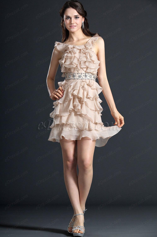 eDressit Nuevo Escote de Cariño Halter Vestido de Coctel Vestido de Gala (04120114)
