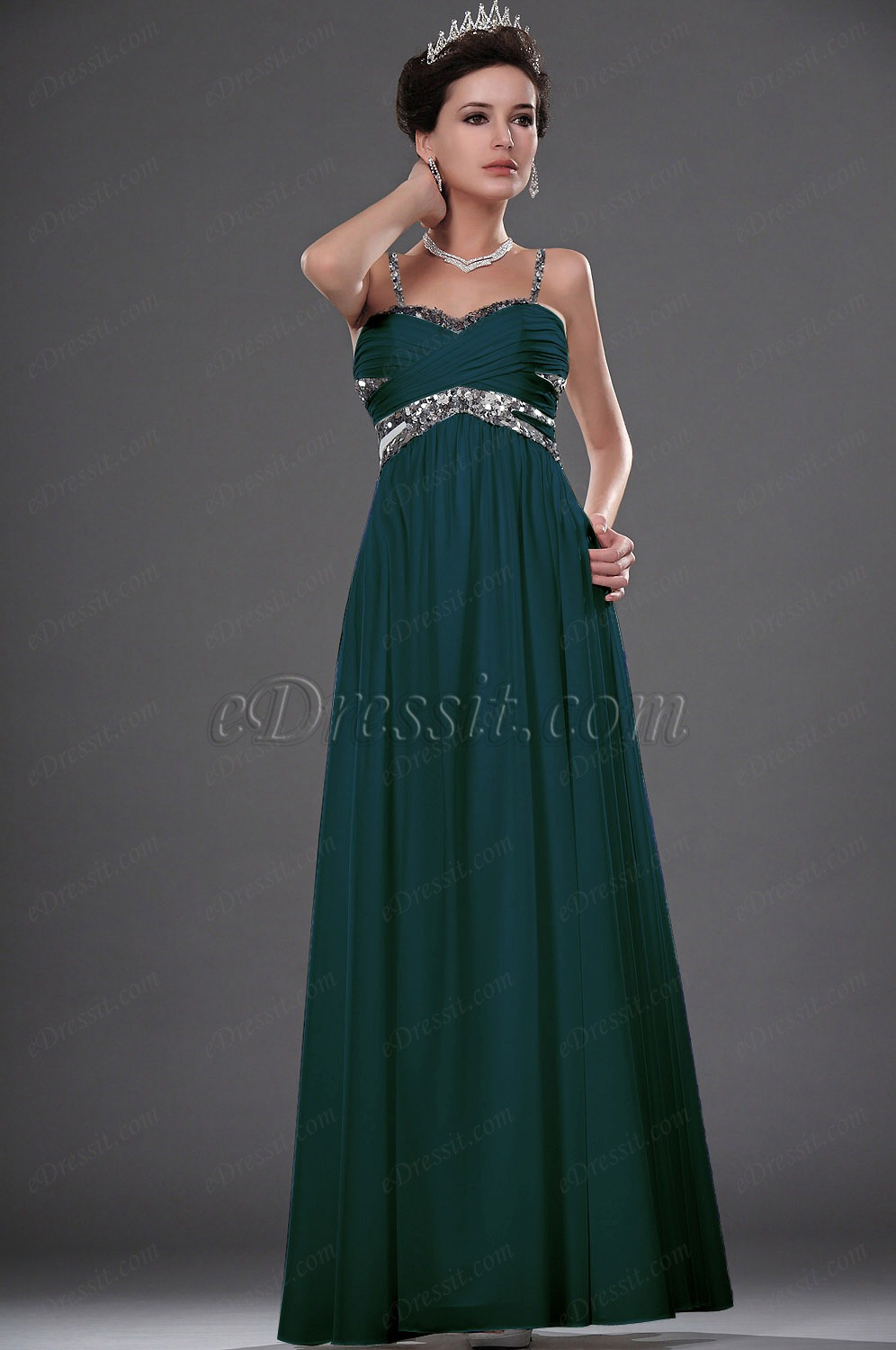 Clearance Sale !eDressit New Strapless Sequins Evening Dress (01111607C)