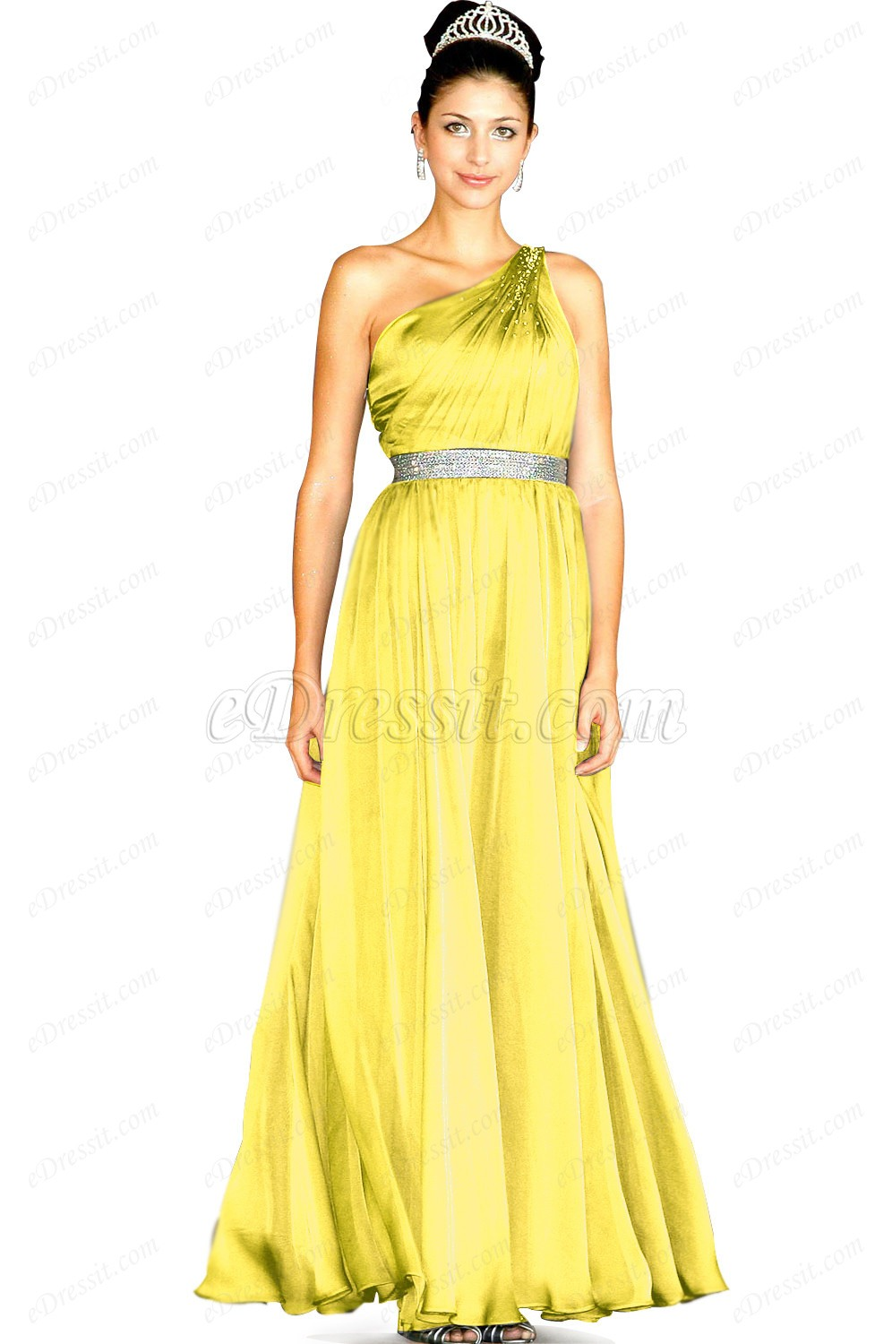 Clearance Sale ! eDressit Amazing Single Shoulder Evening Dress (00094408D)