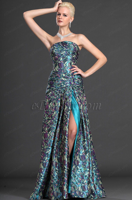 eDressit элегантное  вечернее платье без бретелек (00125868)