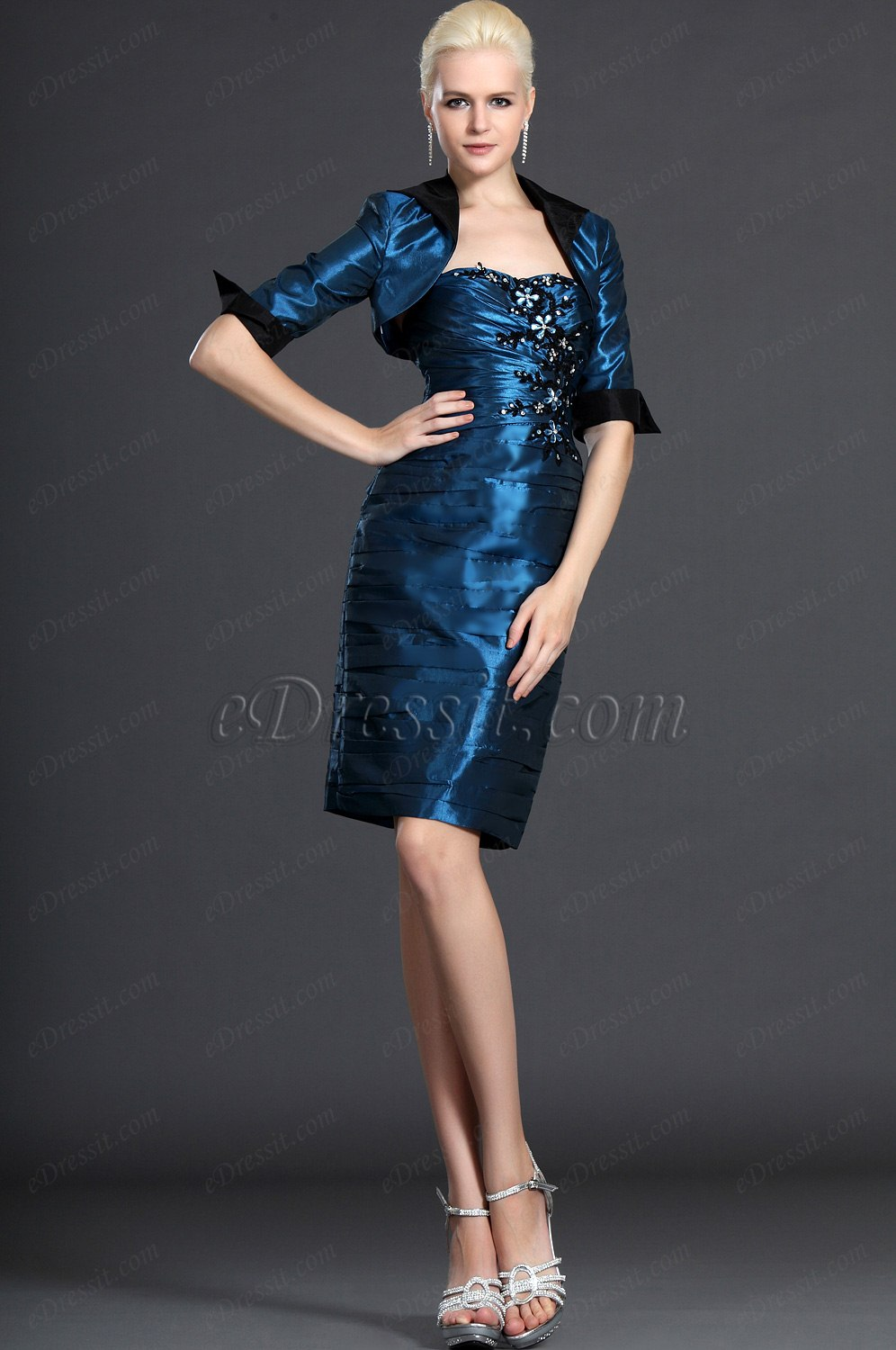 eDressit Strapless Two Pieces Mother of the Bride Dress (26122005)