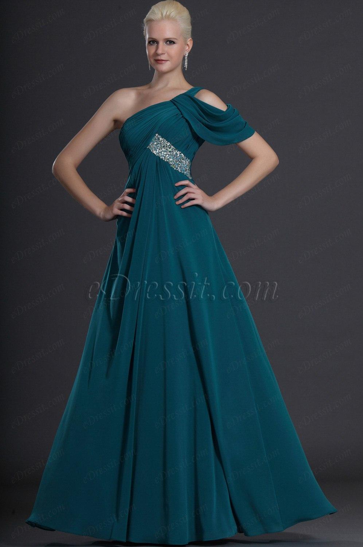 eDressit синее вечернее платье (00125705)