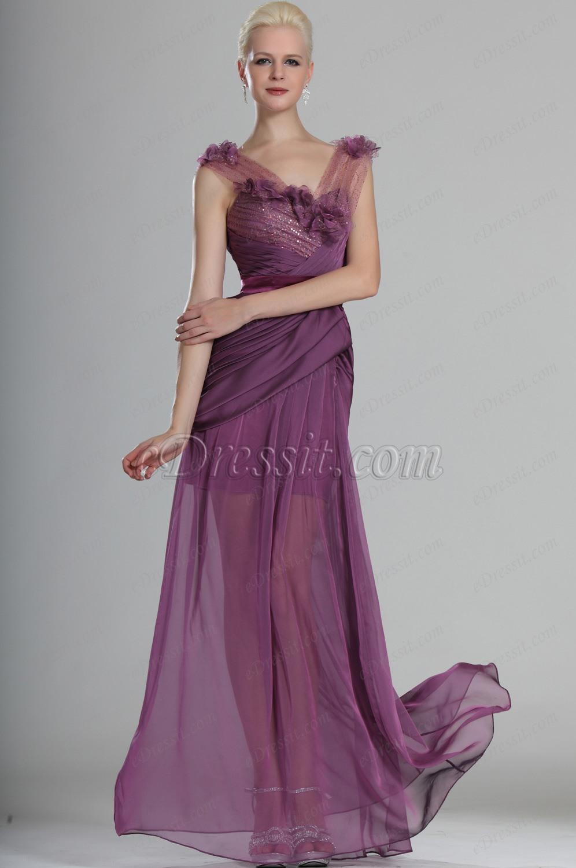 eDressit Sexy Gorgeous V-cut Evening Dress (00126416)