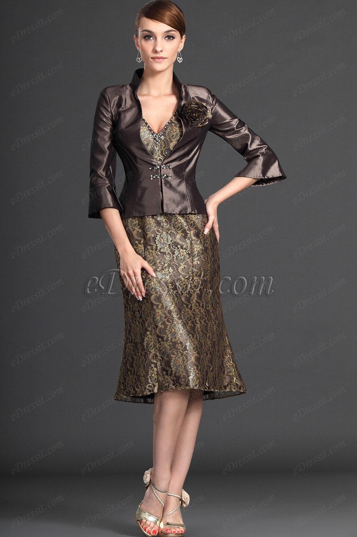 eDressit Novedad Elegante Dos Piezas Vestido de Ceremonia para la Dama (26123420)