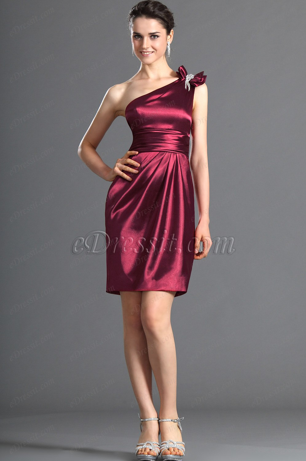 eDressit One shoudler Bridesmaid Dress /Party Dress (07121517)