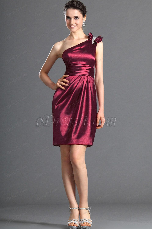 eDressit Ein Schulter Brautjunfer's Kleid / Ballkleid (07121517)