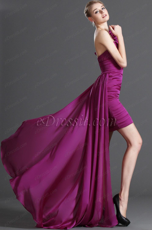 eDressit Novedad Atractivo De Moda Escote en V Vestido Corto Vestido de Coctel (04122712)