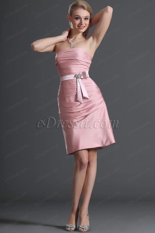 eDressit Robe de Demoiselle d'Honneur Robe de Cocktail Chatoiement (07120201)