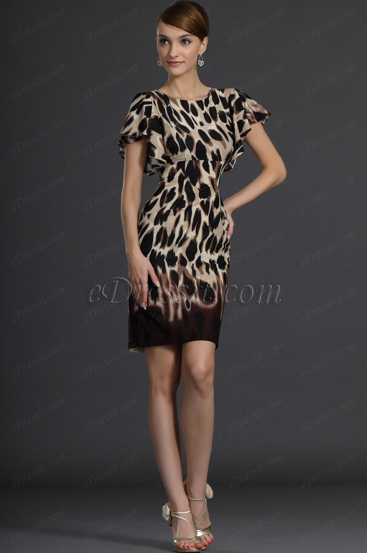 eDressit Short Sleeves Party Dress Day Dress (03121400)