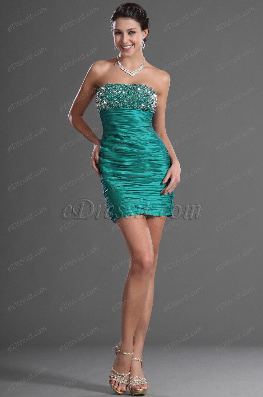 eDressit Brillantes Cuentas Vestido de Coctel Vestido de Fiesta Corto (35120204)