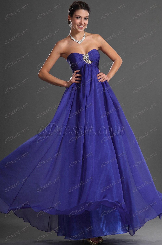 eDressit Sweety Heart Blue Evening Dress (00128805)
