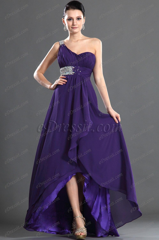 eDressit Fabulous One Shoulder Evening Dress (36120506)