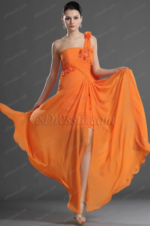 eDressit Charming Fitted One Shoulder Evening Dress (00126910)