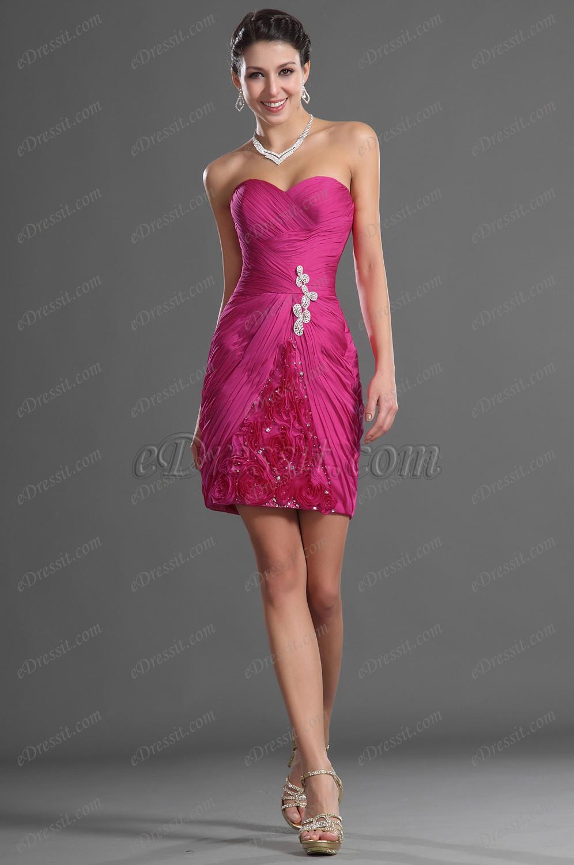 eDressit  Maravilloso Sin Tirante Vestido de Coctel (04125512)