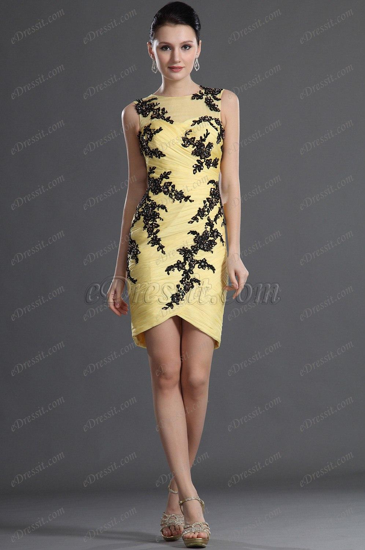 eDressit  Sin Tirante de Moda Vestido de Coctel (04123803)