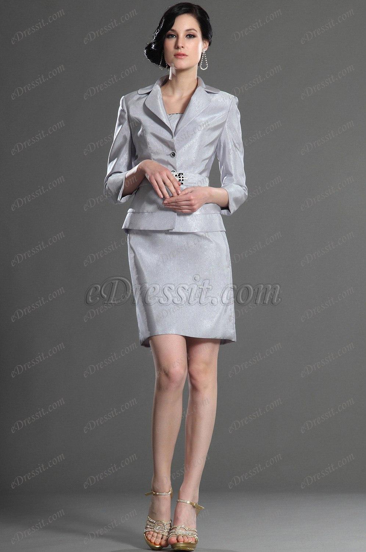 eDressit Eleganz Zwei Stücke Kleider der Mutter von Braut (26126108)