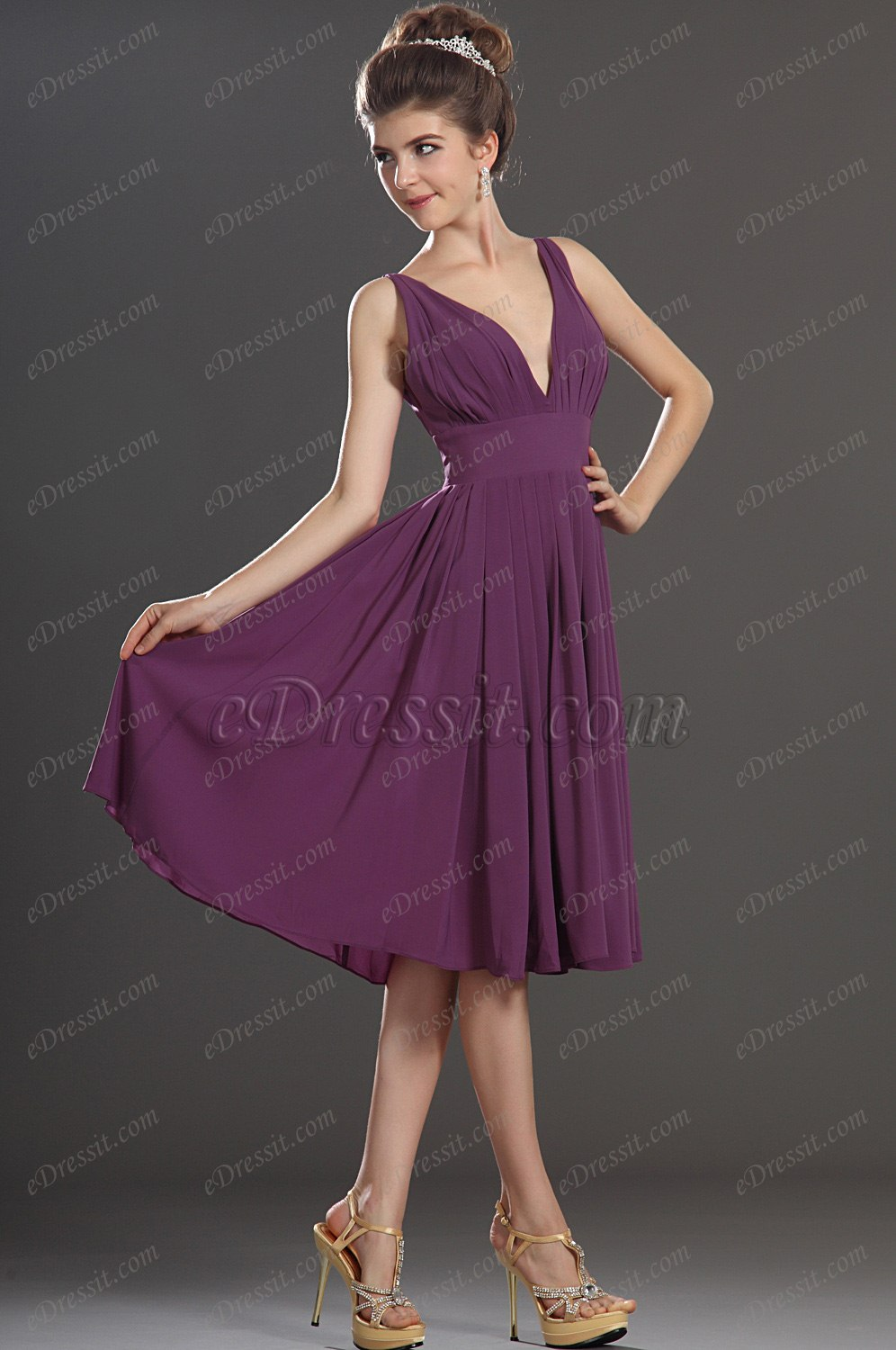 Clearance Sale! eDressit V-cut lovely Evening Dress (00772600)