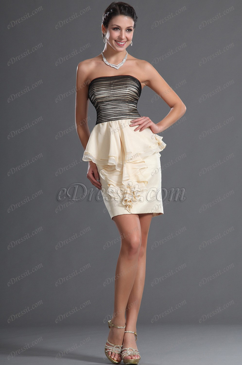 eDressit Wunderbar Cocktail Kleid Party Kleid (04125914)