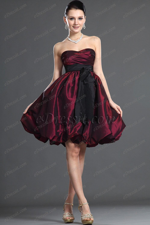 Clearance Sale !eDressit one shoulder Cocktail Dress (04092307B)
