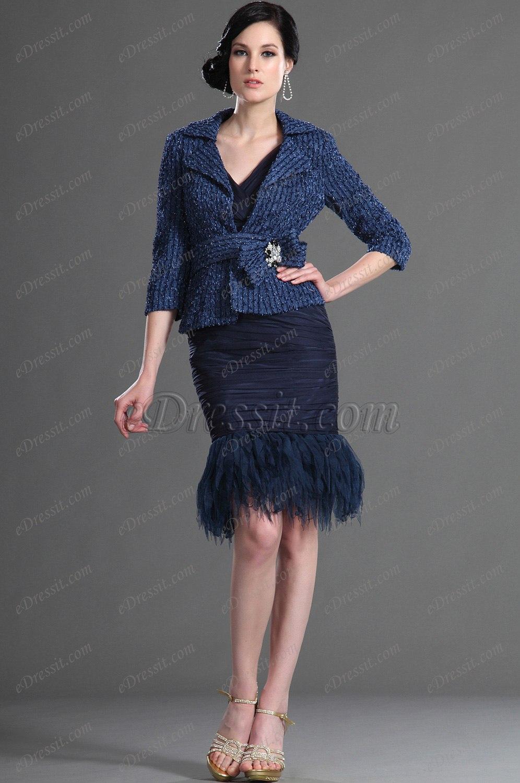 eDressit 2012 новое плиссированное платье для дам / платье на каждый день (26126405)