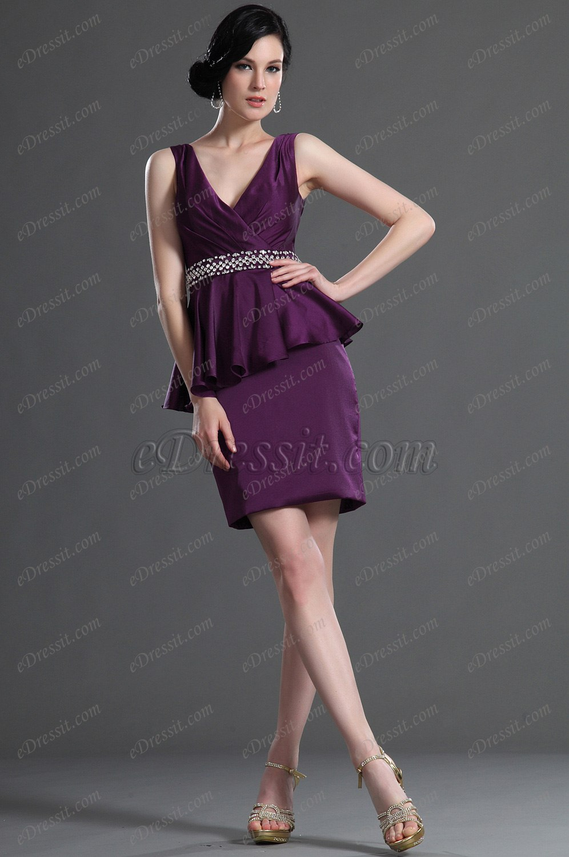 eDressit Stylish V-cut Mother of the Bride Dress (26125306)