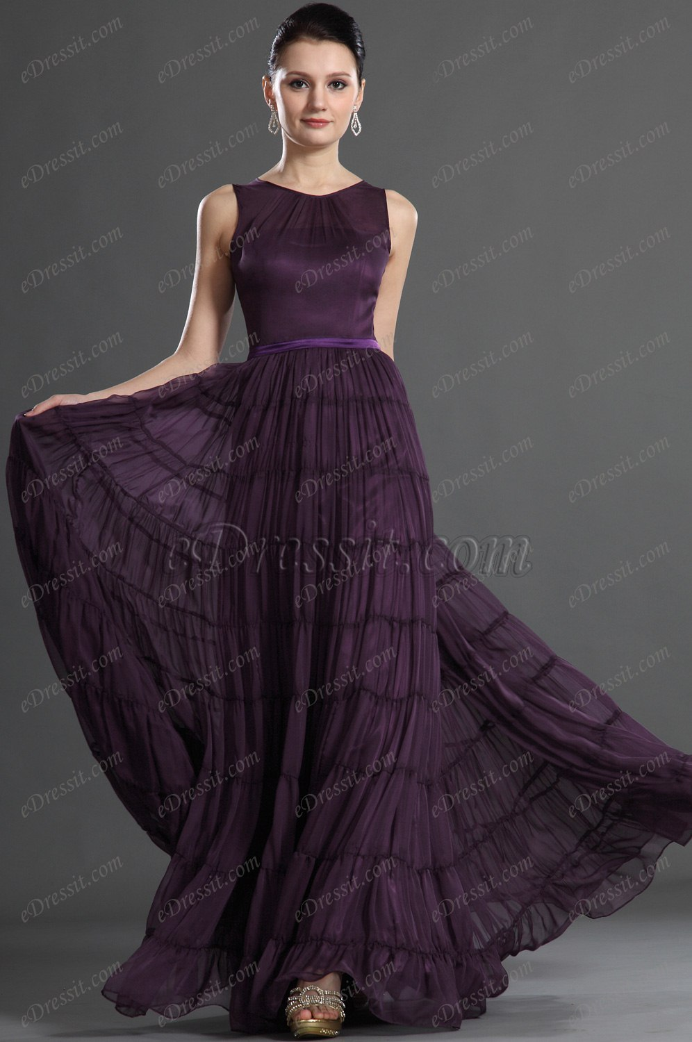 eDressit Elegant Sleeveless Evening Dress (02120506)