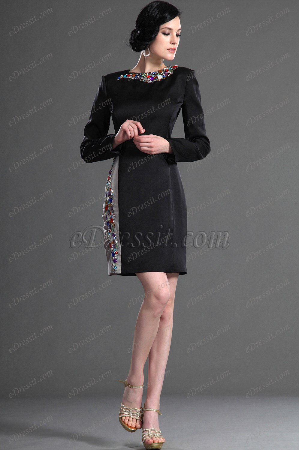 eDressit  New Fabulous Long Sleeves Cocktail dress/Day Dress (03123500)