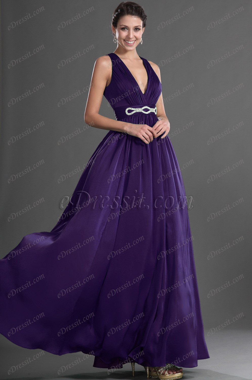 Clearance Sale ! eDressit New Green V Cut Sexy Evening Dress (00129204B)