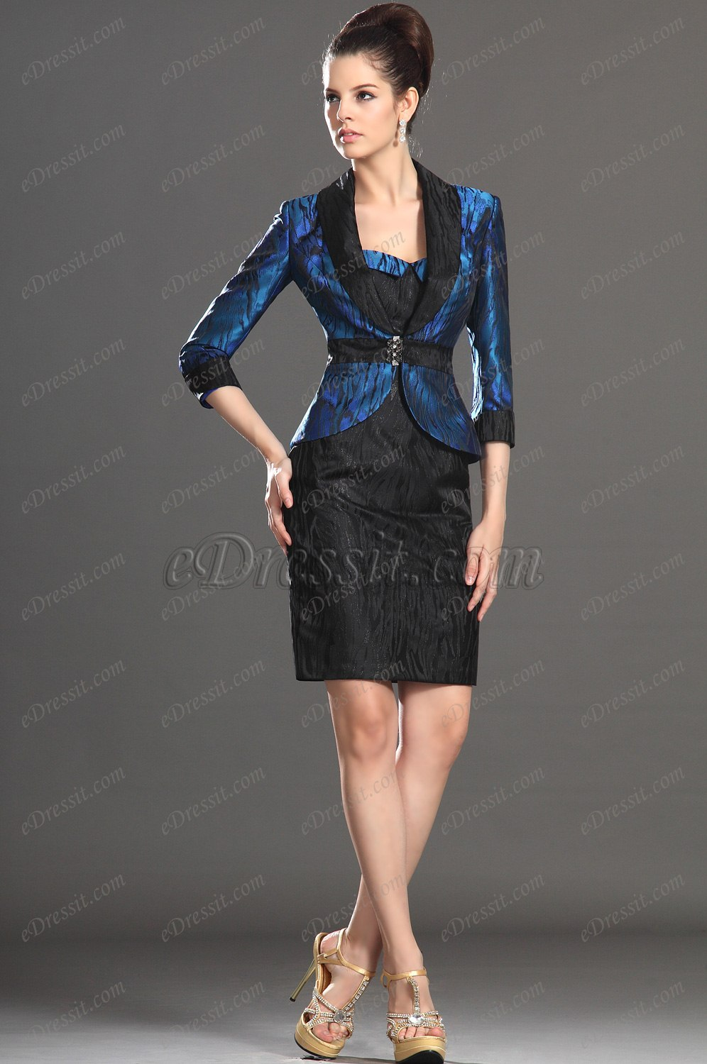 Edressit Elegant Two Pieces Mother Of The Bride Dress Day