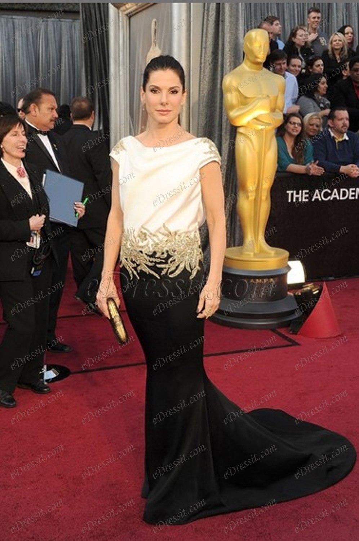 Ausverkauf ! eDressit Kleid von Sandra Bullock auf 84th Oscar Awards (cm1219B)