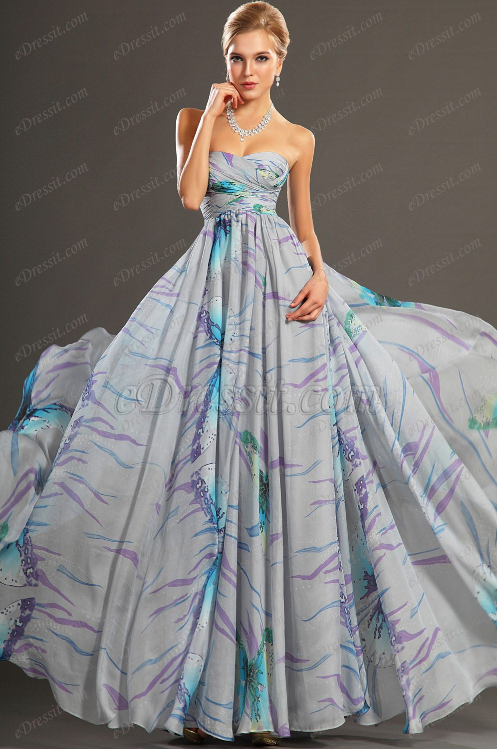 eDressit 2013 New Gorgeous Printed Strapless Evening Dress (00107506)