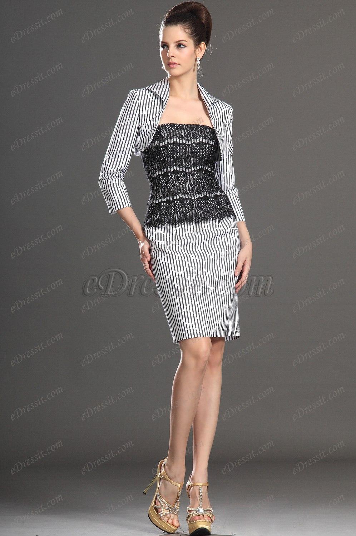 eDressit Artikel Wunderbar Zwei Stücke Kleid für Braut´s Mutter (26131330)