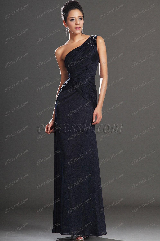 eDressit 2013 Nouveautés Elégante Une Bretelle Avec Perles Robe de Soirée (00132205)