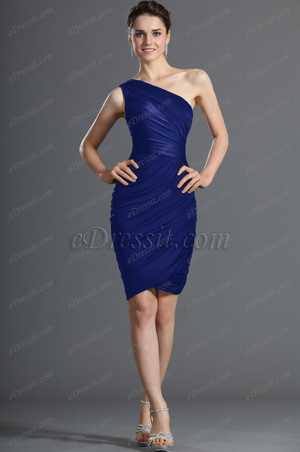 Clearance Sale !eDressit One Shoulder Cocktail Dress Party Dress (03120500B)